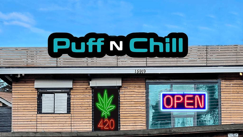 PuffNChill Lynnwood Store Best Cannabis